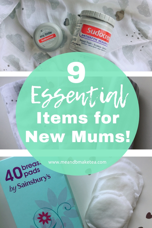 new mum products you will need for baby