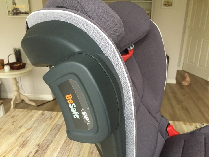 SIP Bumper on Besafe flex fix isize booster seat for kids