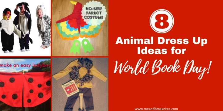 8 animal fancy dress ideas for world book day