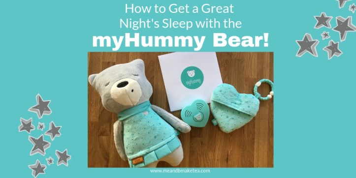 white noise for babies- review of the myhummy bear