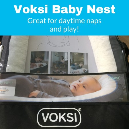 everything you need to know about the voksi baby nest for naps and sleep