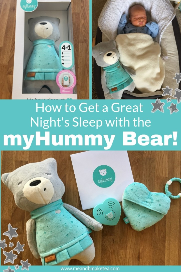 white noise for babies- review of the myhummy bear for babies and toddlers