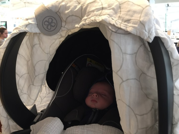 cloby swaddle and clips review