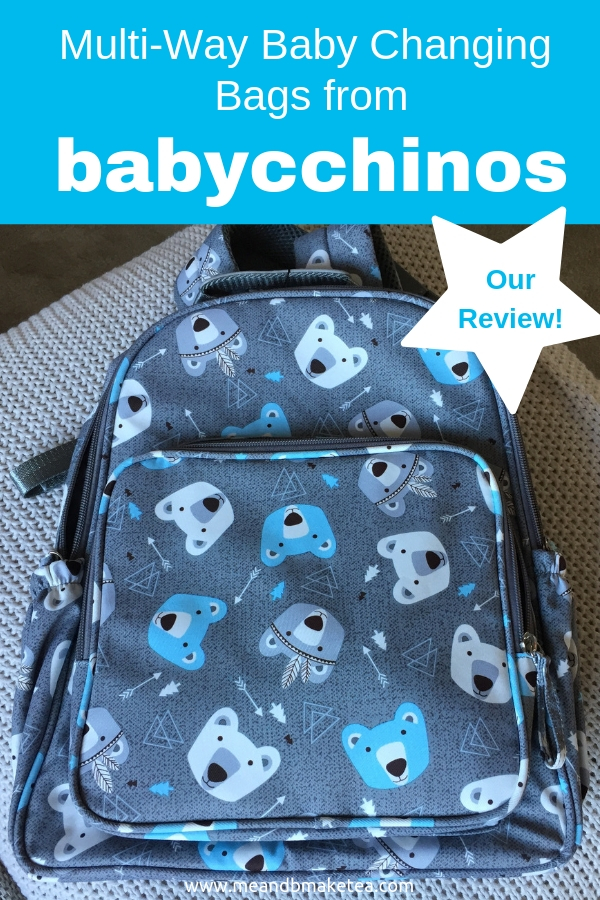 Babycchinos Backpack Changing Bags - Ideal for Out and About - a review