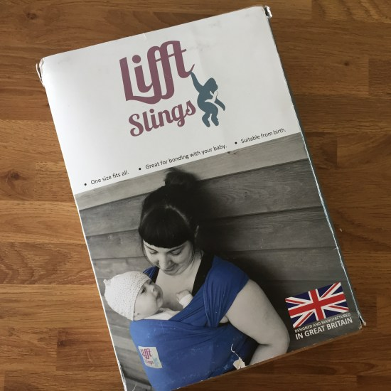 sling hire with its a sling thing - stretchy wrap for newborn - lifft