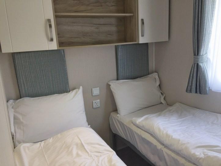 single bedroom at at john fowler widemouth bay caravan park