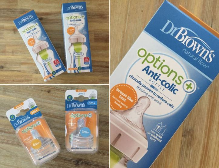 dr browns anti colic options bottle range review