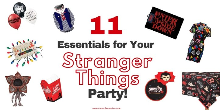 11 Ideas for YourStranger Things Themed Halloween Party!