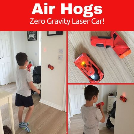air hogs zero gravity remote control car - toy review