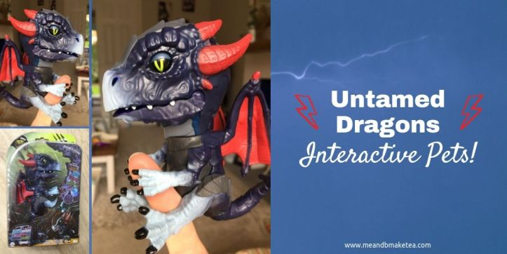 untamed dragons review - twitter header