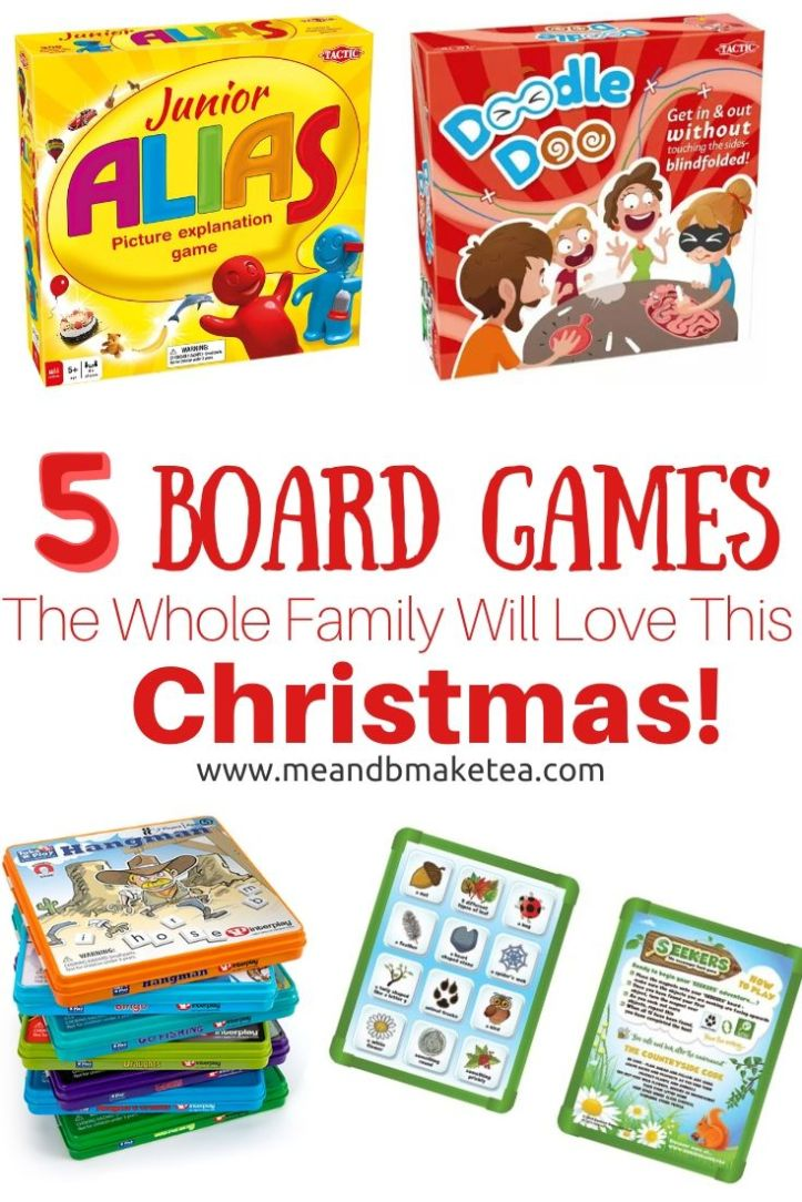 5 board games for the family to play this christmas