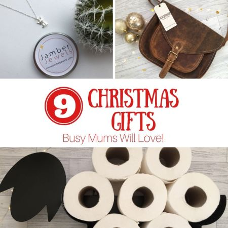 9 christmas gift ideas for busy mums - unique gifts - thumbnail for social media