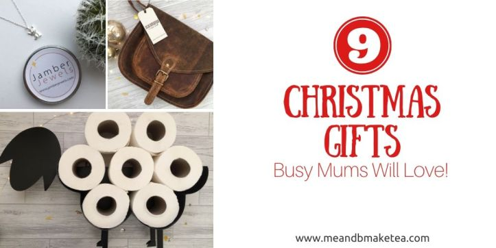 9 christmas gift ideas for busy mums - unique gifts - thumbnail for twitter