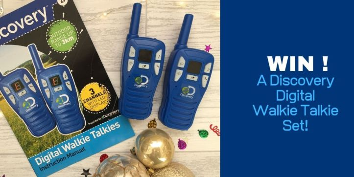 discovery walkie talkie set review and giveaway thumbnail twitter