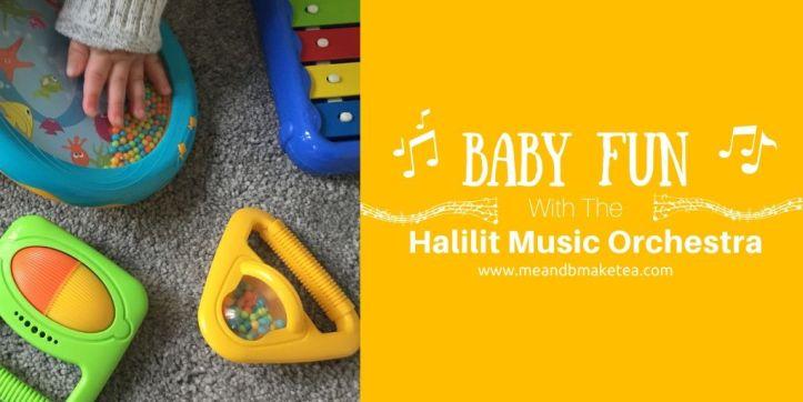Halilit Toddler Music Orchestra thumbnail image of toys