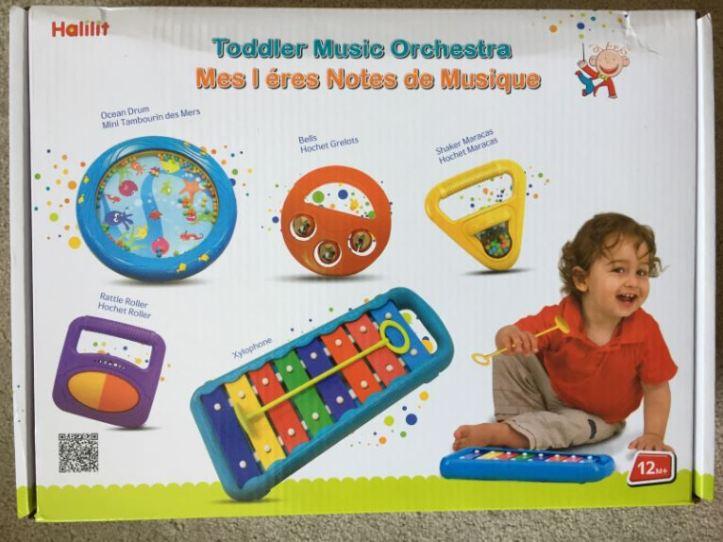 Halilit Toddler Music Orchestra - box