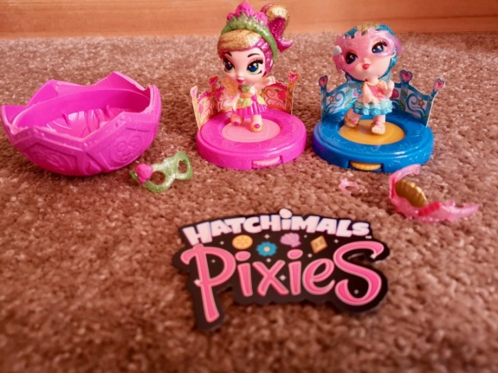 Hatchimals Pixies toy review and pixies set up