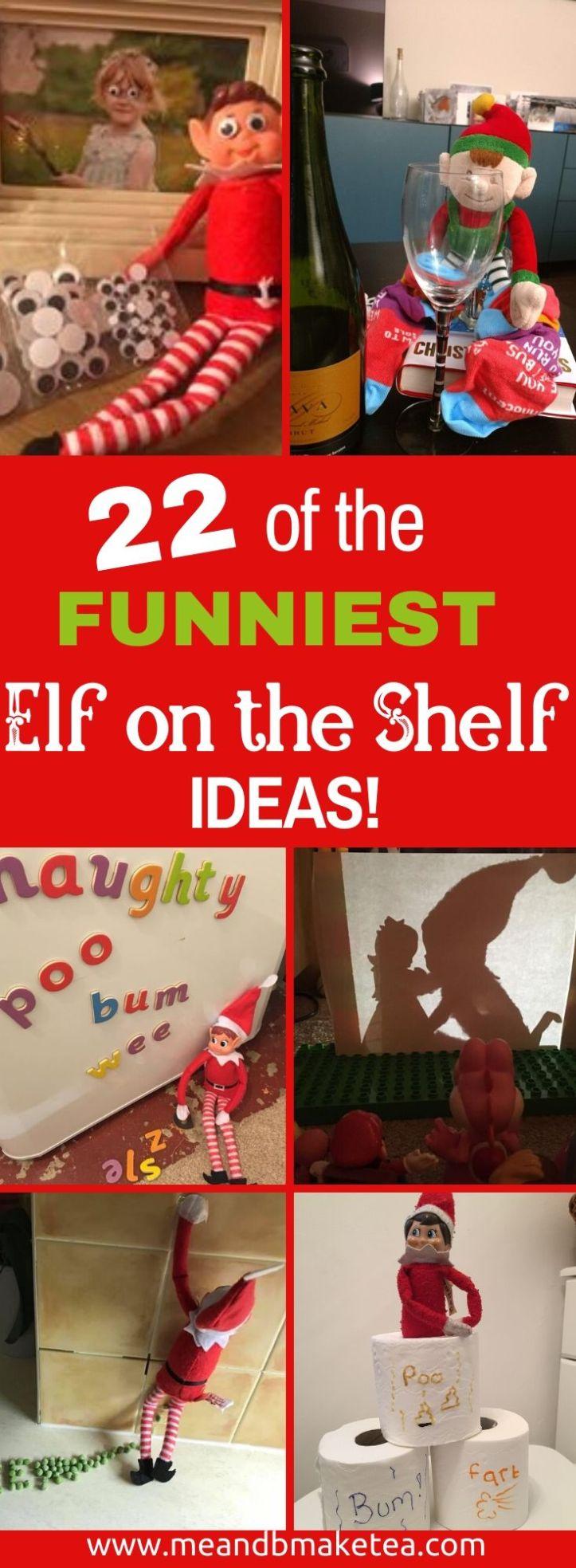 elf on the shelf tricks
