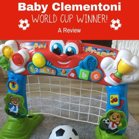 Baby Clementoni football goal toy review