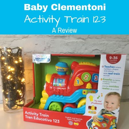 Clementoni Activity Train review