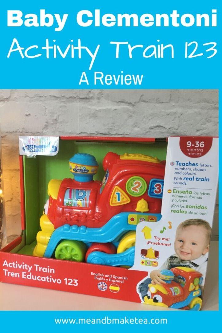 Clementoni Activity Train review