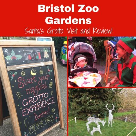 santas grotto review and visit at bristol zoo gardens - social thumbnail