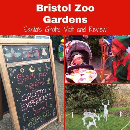 santas grotto review and visit at bristol zoo gardens - social thumbnail