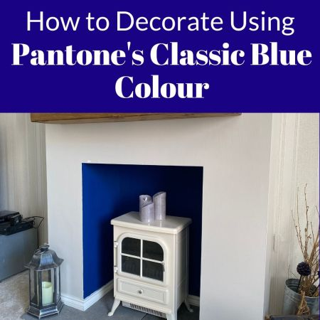 How to Decorate Your Living Room Using Pantone's Classic Blue Colour