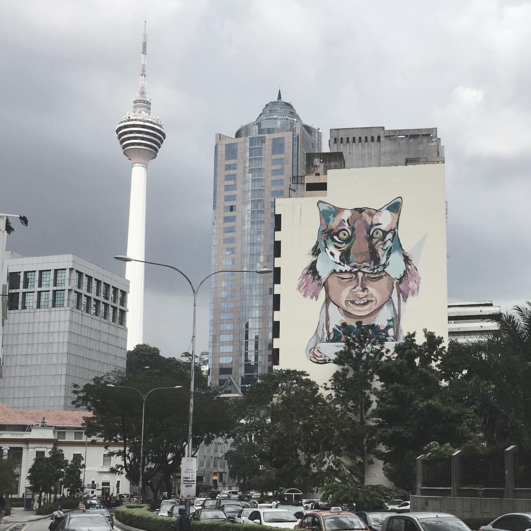 Kuala Lumpur Famous Street Art