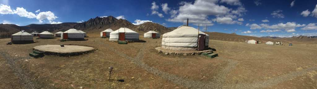 Mongolia-gers