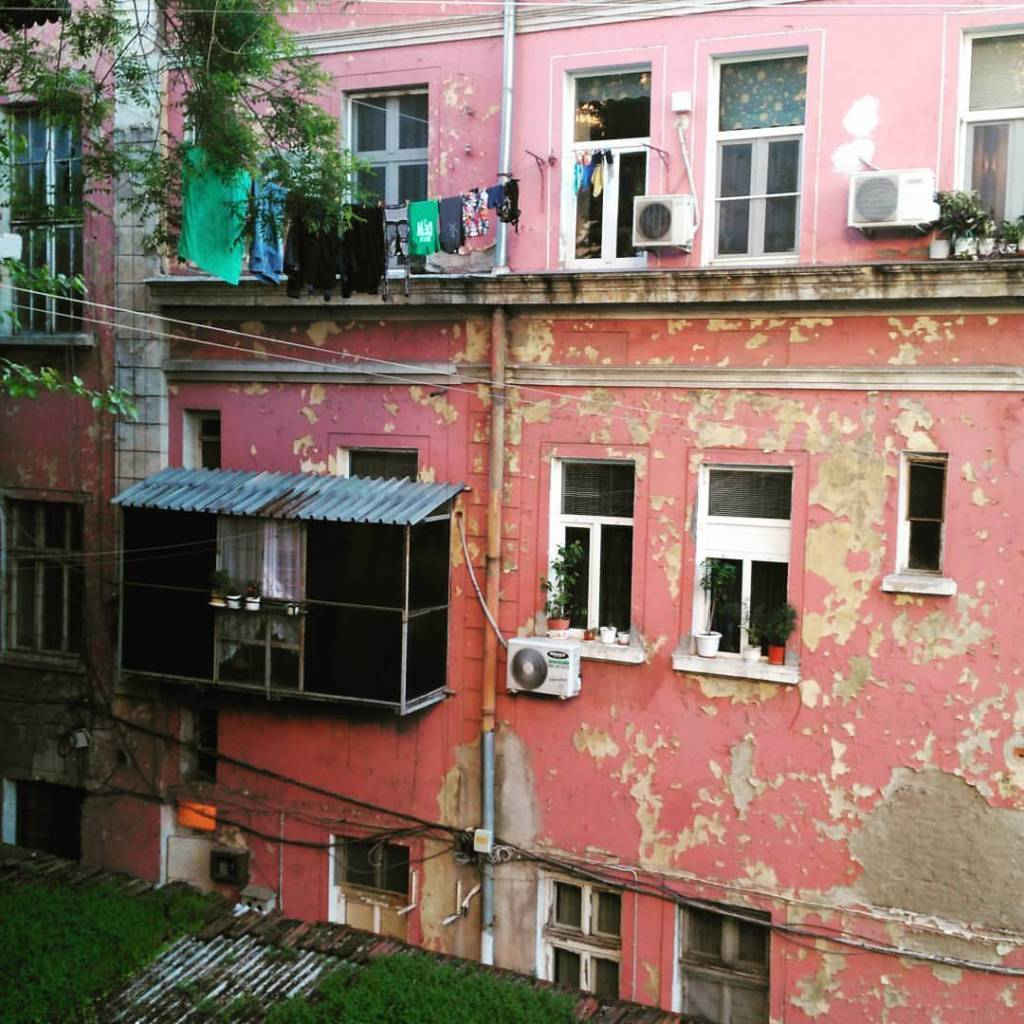 Red walls of Ruse, Bulgaria