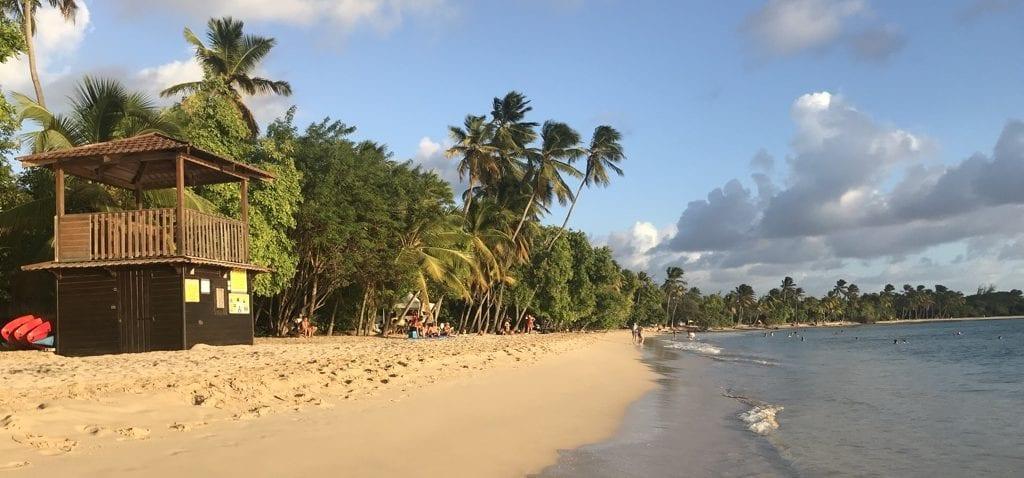 Sainte Anne Beach - A Martinique Road Trip