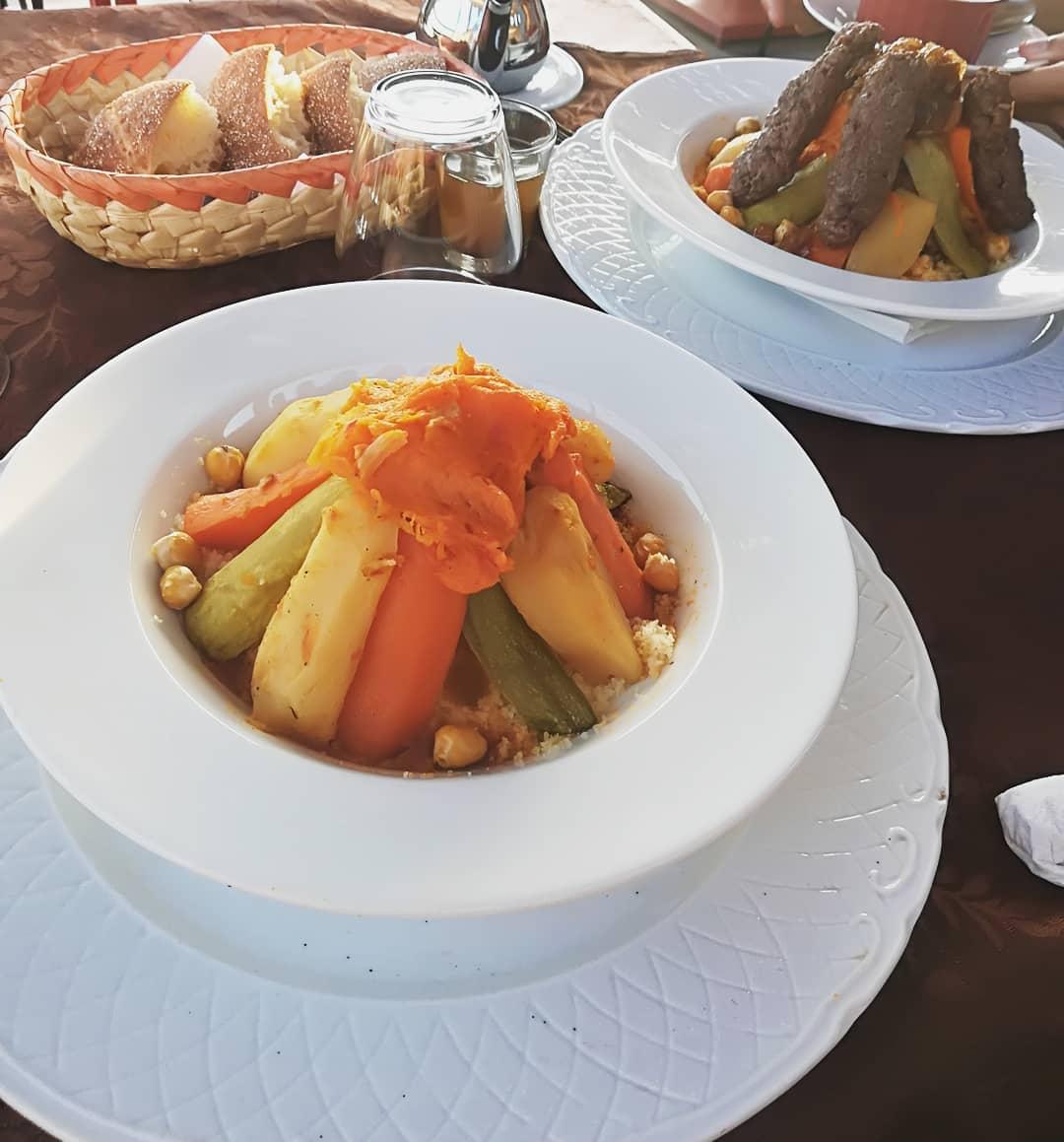 Marrakesh Delicacies - Moroccan Cous Cous