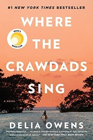 Travel reading: Where the Crawdads Sing by Delia Owens