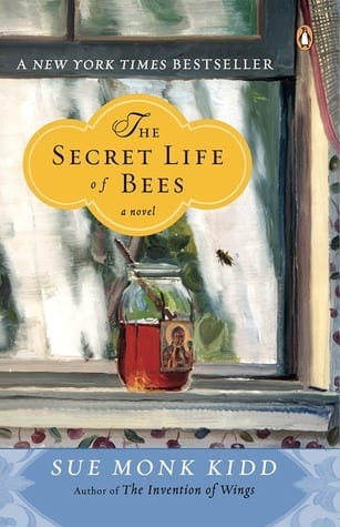 Travel reading: The Secret Life of Bees, a book by Sue Monk Kidd.