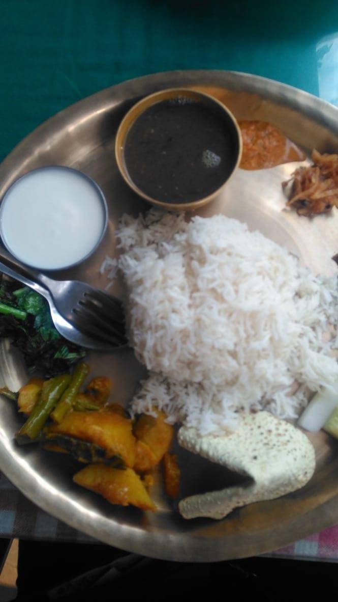 Nepalese Thali