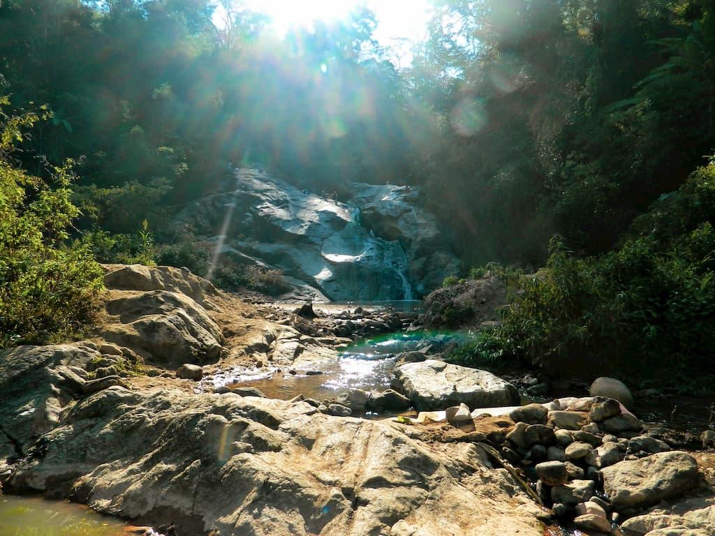 Waterfalls at Mo Paeng