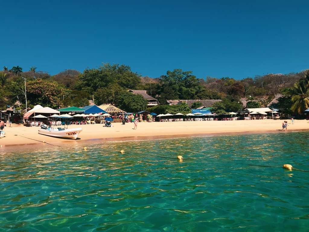 Truly magical Playa Angelito - one of the Oaxaca Coast's true gems