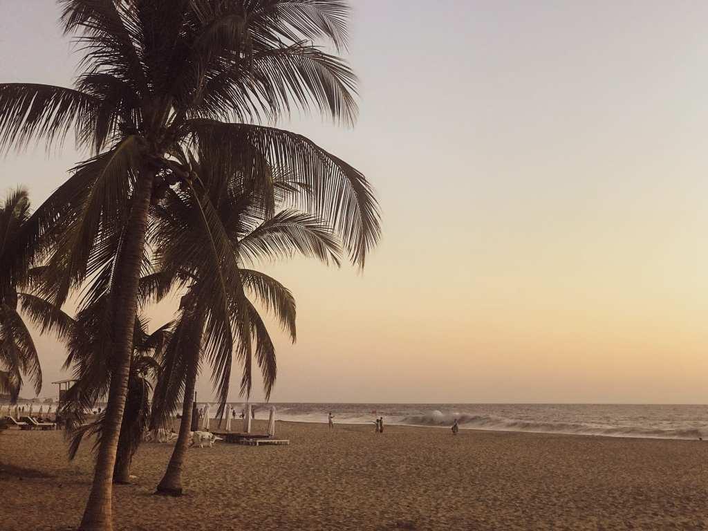 Playa Zicatela sunset