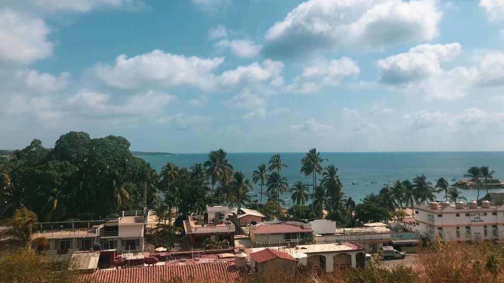View out over Puerto Escondido