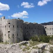 The Kosmac Fortress by Budva, Montenegro - meanderbug