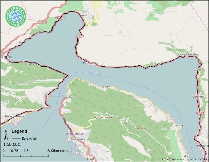 EuroVelo 8 - Montenegro route 10