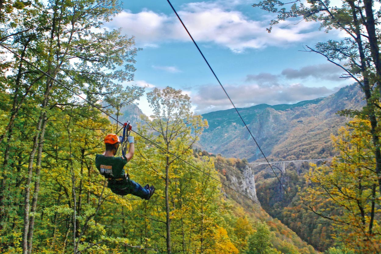 Tara Canyon Estate And Zip Line Montenegro Meanderbug