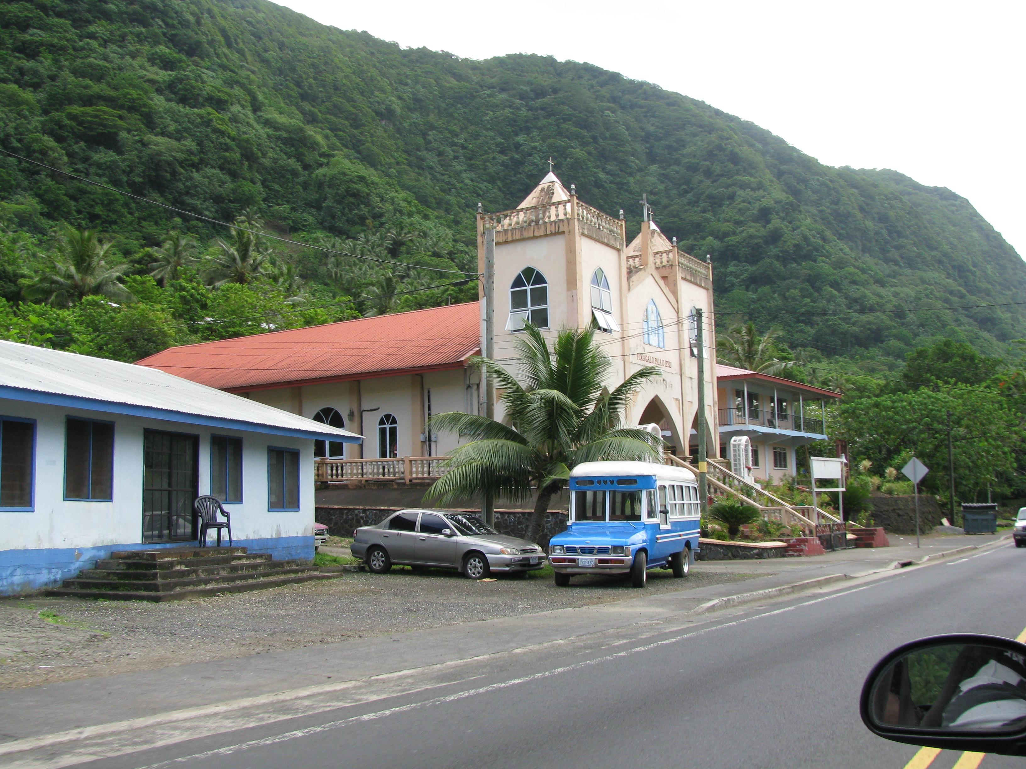House, Church, and Bus!