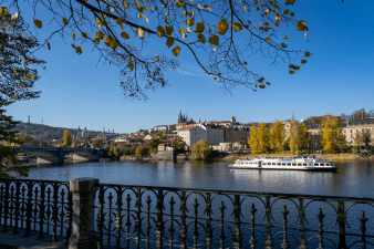 A view of Prague, Czech Republic in 2019