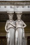 A beautiful statue in Vienna Austria
