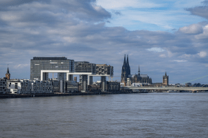 A look at Cologne Germany in March 2020