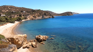Video – A ride to see some of the beaches on the north side of Patmos Greece – July 2020