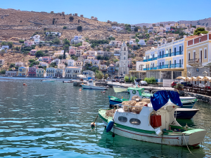 Aug 2020 – Symi Greece (one of the Dodecanese islands)