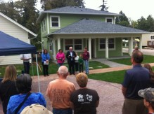 Dedication of a Habitat for Humanity home
